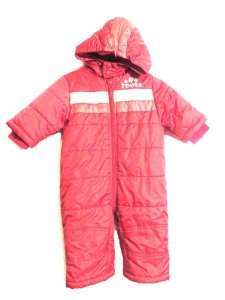 15.99 Roots 3-6M Red sherpa-lined snowsuit 50.00 15.99 100polyester